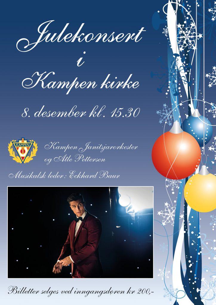Kampen Janitsjarorkester inviterer til julekonsert
